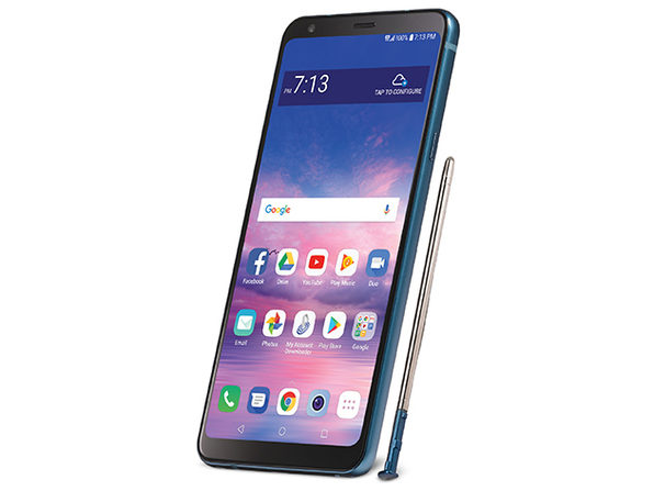 LG Stylo 4 Smartphone 32GB - Black (Grade B Refurbished: Straight Talk Unlocked)