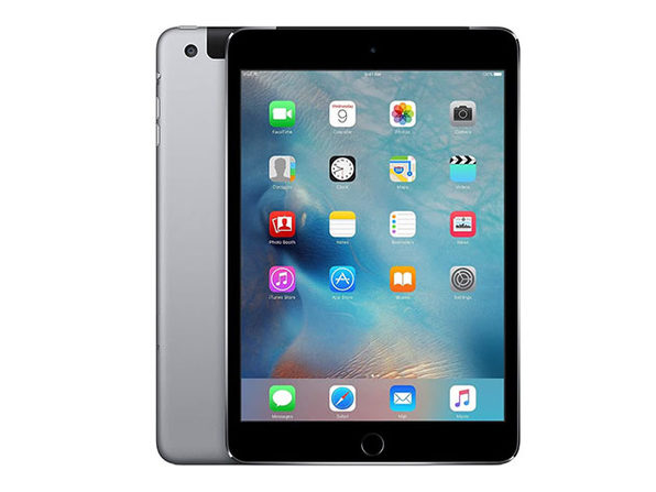 Apple iPad mini 3, 64GB - Silver (Refurbished: Wi-Fi + 4G Unlocked)