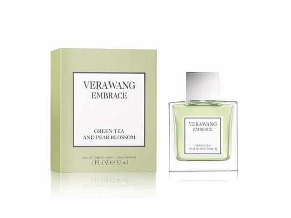 Vera Wang Embrace Sophisticated and Intimate, Green Tea and Pear Blossom, Eau de Toilette Perfume, 1.0 Fluid Ounce