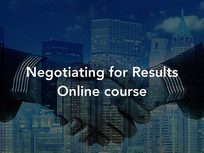 Negotiating for Results - Product Image