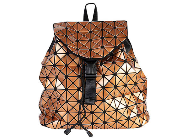 Geo Shaped Backpack - Bronze - Product Image