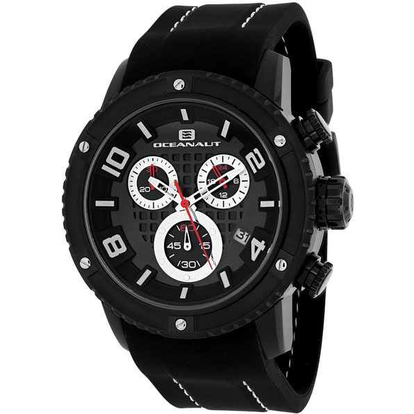 Oceanaut Men's Impulse Sport Black Dial Watch - OC3124R - Product Image