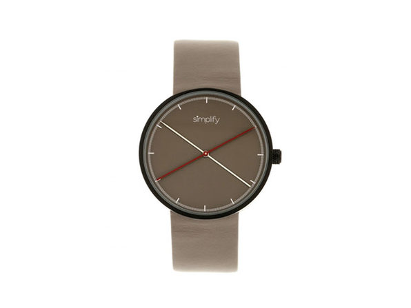 "Simplify ""The 4100 Series"" Men's Quartz Watch (Model 4102)"