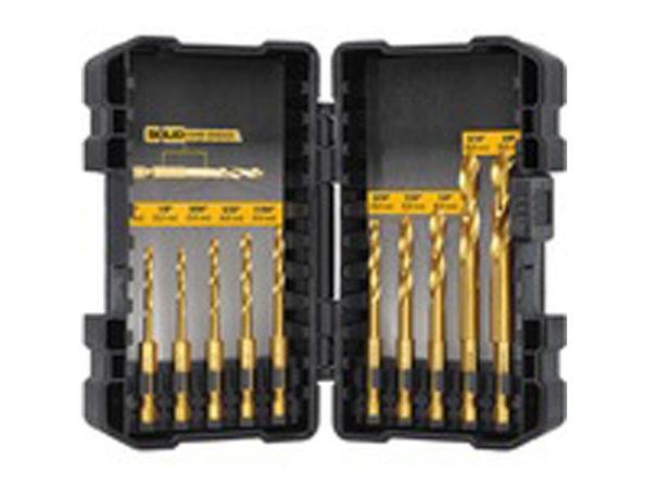 DEWALT DD5160 Titanium IR Drill Set, 10 Pc