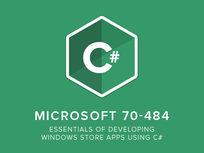 Microsoft 70-484: Essentials of Developing Windows Store Apps Using C# - Product Image