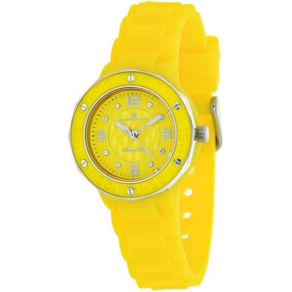 Oceanaut Women's Acqua Star Yellow Dial Watch - OC0437 - Product Image