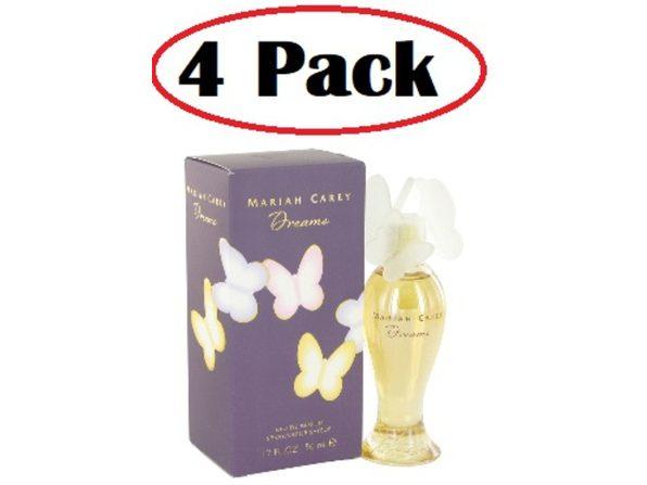4 Pack of Mariah Carey Dreams by Mariah Carey Eau De Parfum Spray 1.7 oz - Product Image