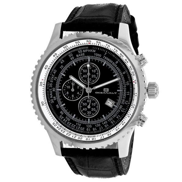Oceanaut Men's Black Dial Watch - OC0312
