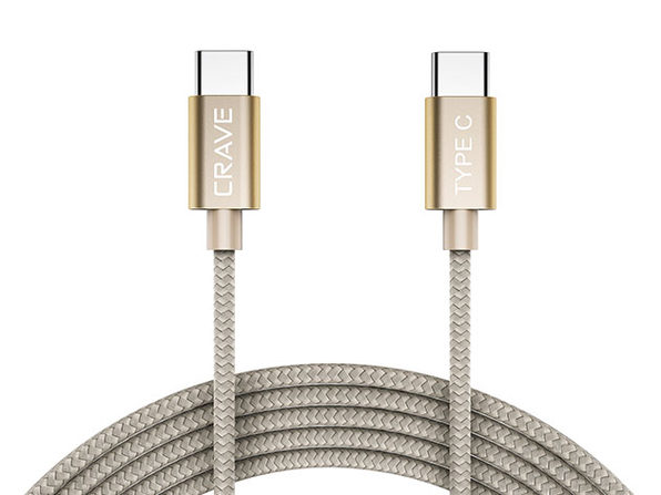 Crave USB-C to USB-C Cable