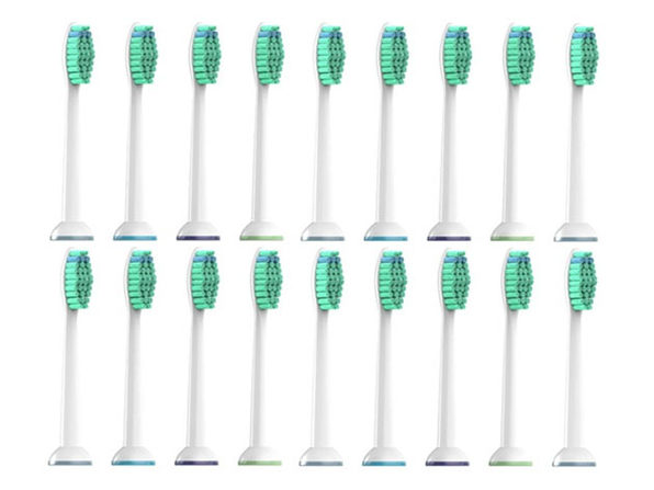 Sonicare Compatible Toothbrush Heads: 18-Pack