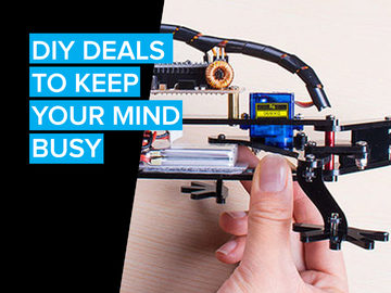 DIY Deals to keep your mind busy