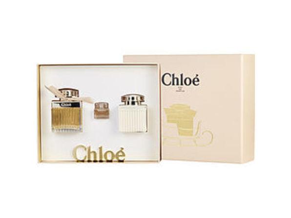 Chloe New By Chloe Eau De Parfum Spray 2.5 Oz & Body Lotion 3.4 Oz & Eau De Parfum .17 Oz Mini For Women (Package Of 5)