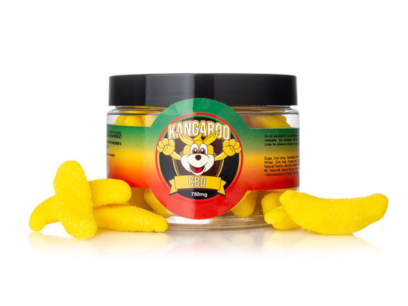 Kangaroo Banana CBD Gummies (750 Mg)
