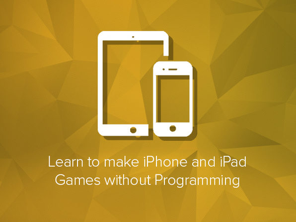Learn to Make iPhone & iPad Games without Programming - Product Image