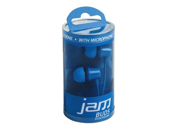 JAM Silicone Earbuds with Microphone