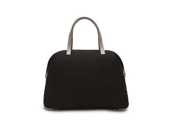 Canvas Color Block Overnight Bag