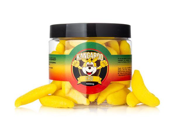 Kangaroo CBD Gummies- Banana 1000 MG - Product Image