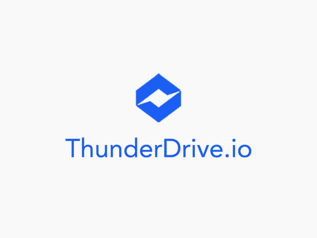 Teaser for ThunderDrive Cloud Storage: Lifetime Subscription