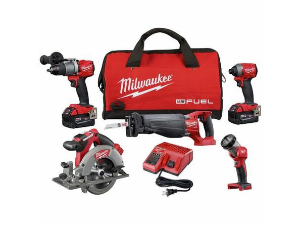 Milwaukee 2997-25 M18™ Fuel 5 Tool Combo Kit