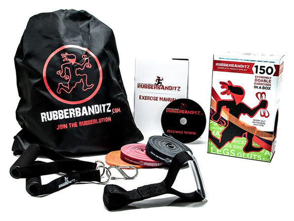 Rubberbanditz Gym-in-a-Bag Kit