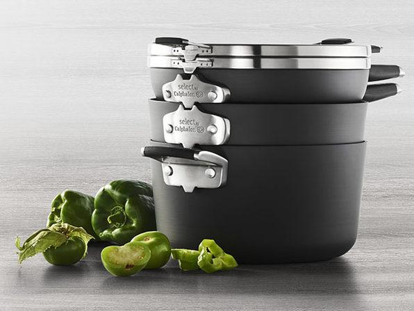 Select by Calphalon™ Space-Saving Nonstick 7-Pc Starter Cookware Set