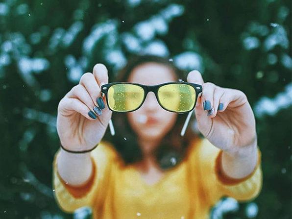 Unisex Blue Light UV Blocking Glasses