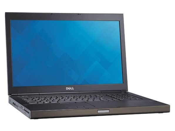 "Dell Percision M6800 17"" Laptop, 2.8 GHz Intel i7 Quad Core Gen 4, 16GB DDR3 RAM, 500GB SSD, Windows 10 Professional 64 Bit (Renewed)"