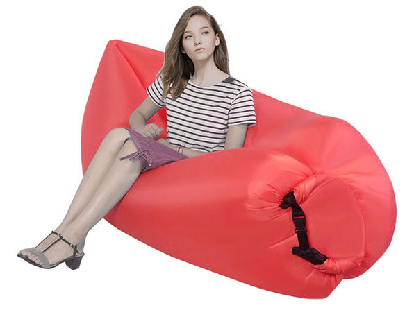 Inflatable Lazy Sofa (Red)
