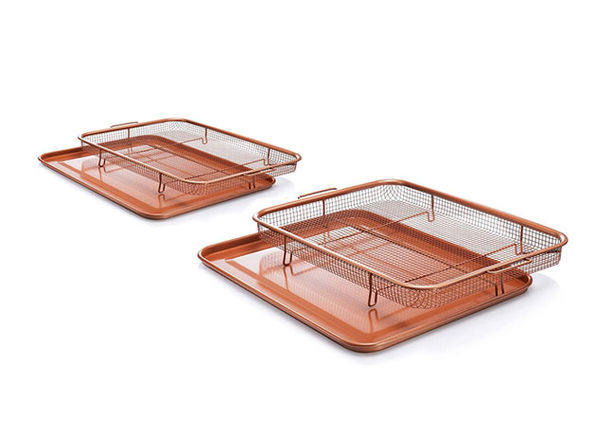 Gotham Steel Crisper Tray: Set of 2