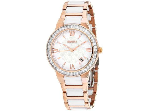 Roberto Bianci Women's Allegra White MOP Dial Watch - RB58721