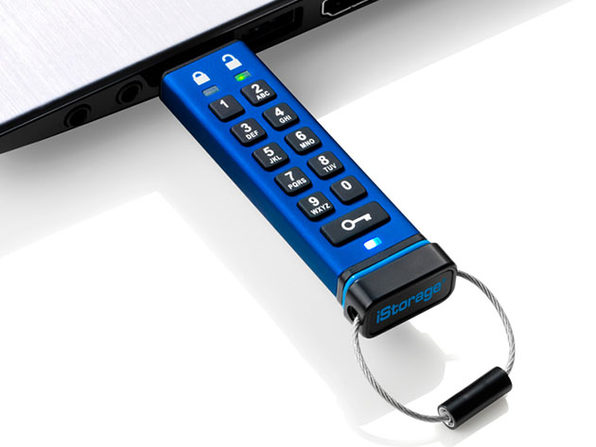 datAshur® PRO 256-bit Encrypted USB 3.0 Flash Drive (64GB)