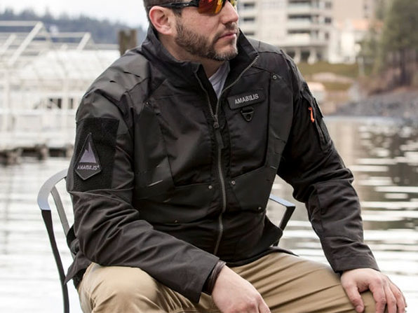 AMABILIS® Responder Jacket (Tactical Black/XL.5)