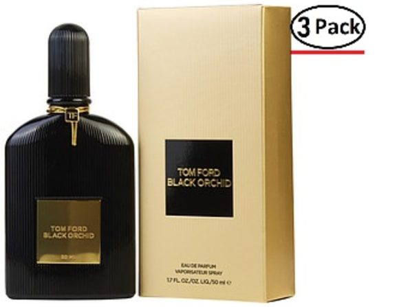 BLACK ORCHID by Tom Ford EAU DE PARFUM SPRAY 1.7 OZ (Package Of 3) - Product Image