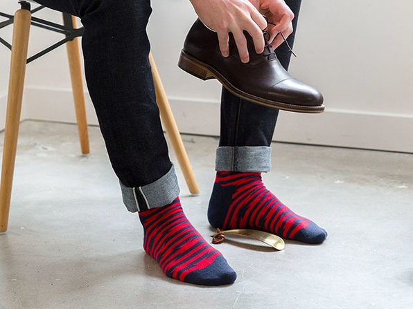 Mystery Sock Pack by Ivory + Mason: 3-Pack