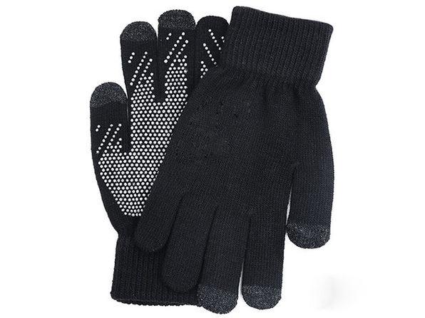 Winter Touch 3-Finger Touchscreen Gloves (Blue)