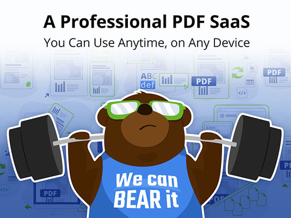 PDFBEAR All in One PDF Software: Lifetime Subscription