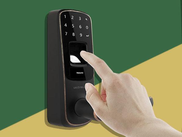 Ultraloq UL3 Bluetooth Fingerprint and Touchscreen Smart Lock (Aged Bronze)