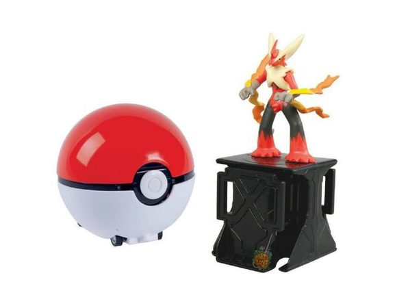 Pokemon Super Catch N Return Pokeball - Mega Blaziken - Product Image