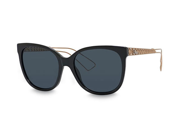 Dior Diorama Sunglasses Black/Blue - Product Image