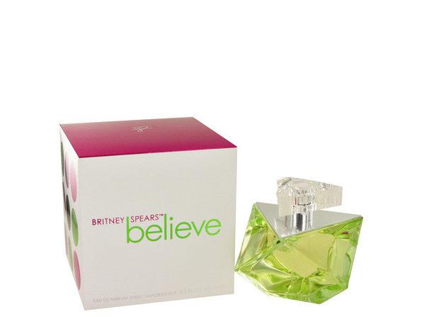 3 Pack Believe by Britney Spears Eau De Parfum Spray 3.4 oz for Women