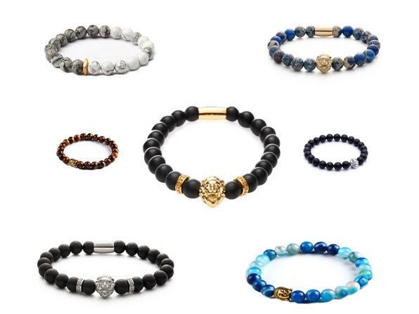 Homvare Stainless-Steel Bracelet - Black