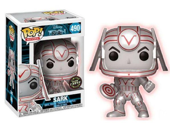 Funko Pop! Movies Disney Tron Sark Vinyl Figure Chase Toy #490