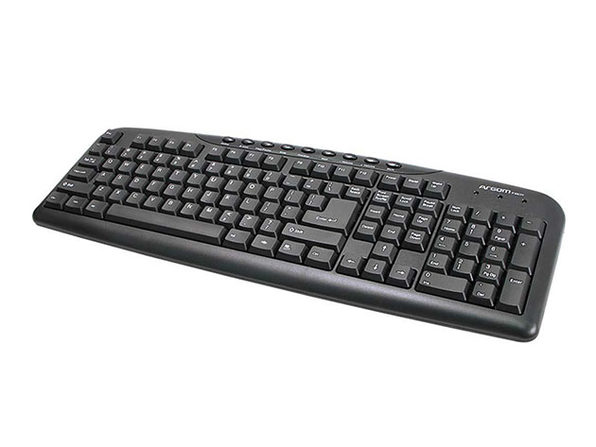 ArgomTech Multimedia English USB Keyboard