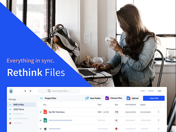 Rethink Files 2TB Cloud Storage + Organization: 3-Yr Subscription