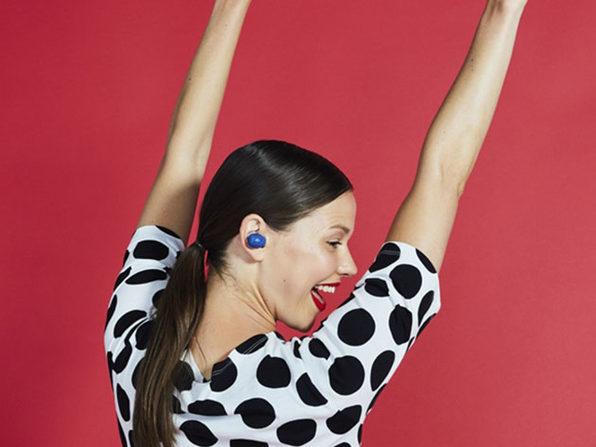 Jam Audio Live True Wireless Bluetooth Earbuds (Blue)