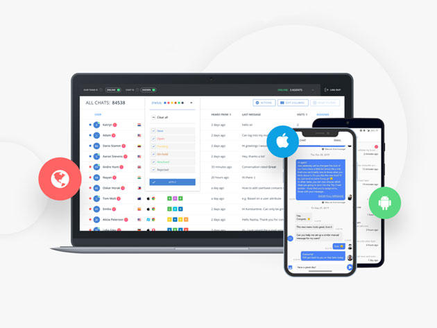 Stack Social Deal for HelpCrunch Communication Manager: Lifetime Standard Subscription