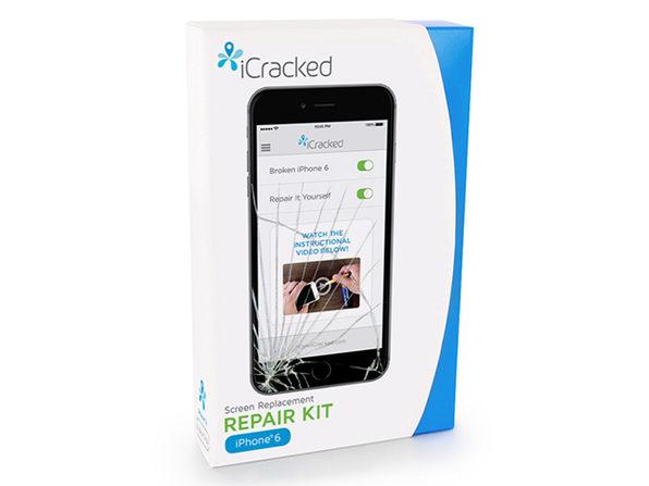 icracked iphone 6 diy screen repair kit tnw deals. Black Bedroom Furniture Sets. Home Design Ideas