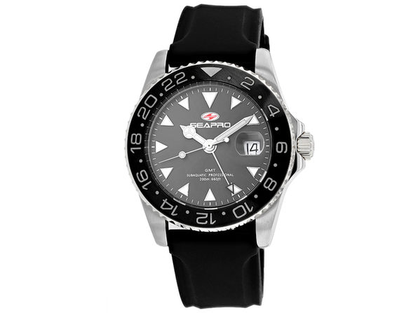 Seapro Men's Grey Dial Watch - SP0120
