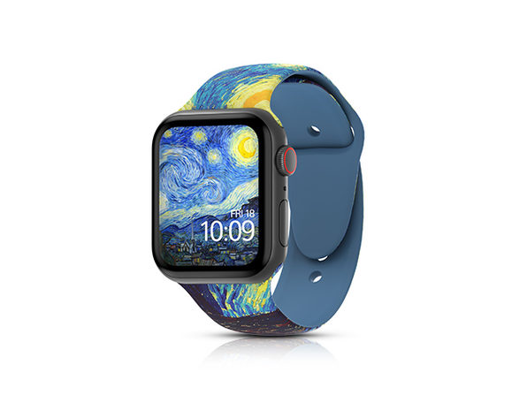 MobyFox 38mm Apple Watch Band & Watch Face Code (Starry Night)