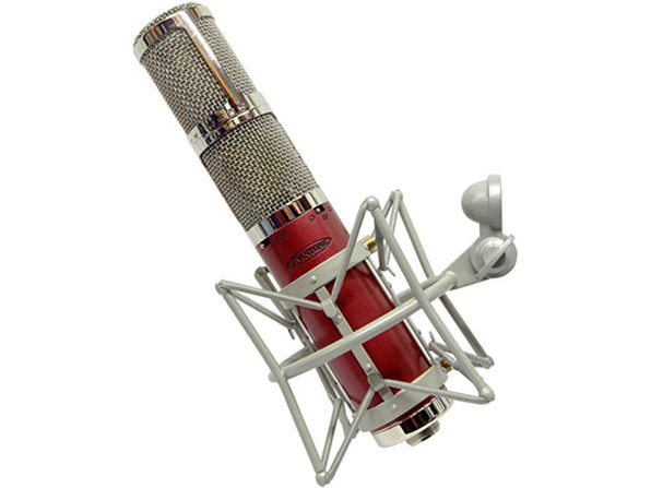 Avantone CK-40 FET Stereo XLR Connector Multi Pattern Audio Microphone - Red (Used, Damaged Retail Box)
